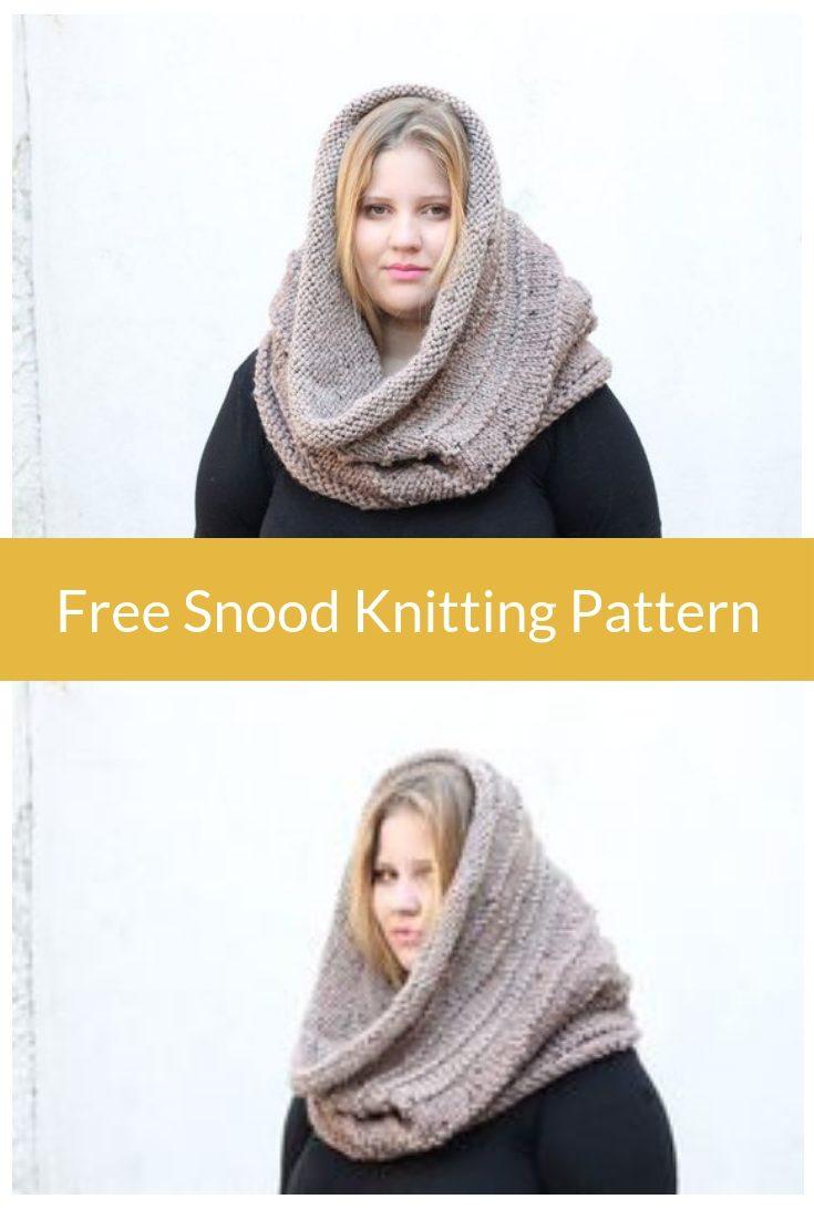 Snood Knitting Pattern The Kallisto Free Knitting Patterns