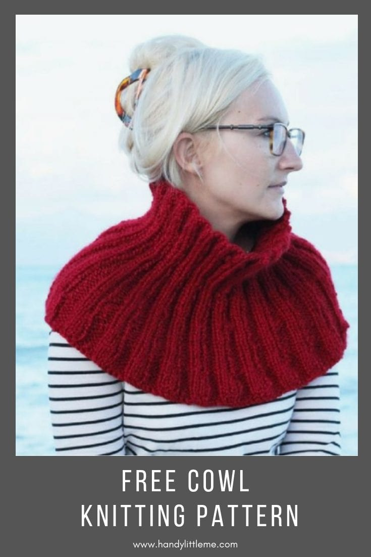 The Pandora Cowl Free Knitting Pattern