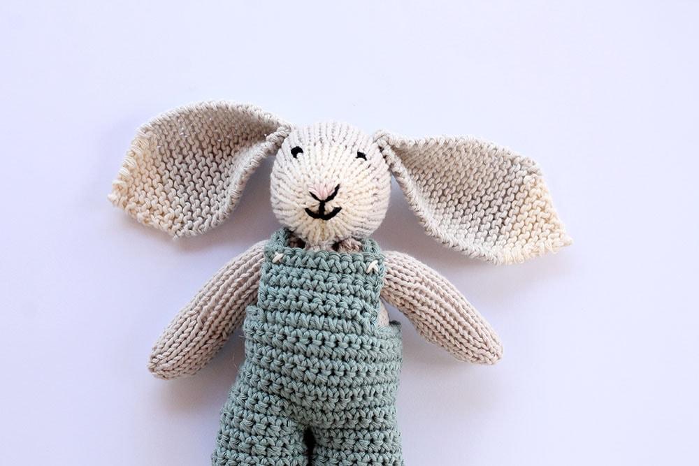 Bunny free knitting pattern