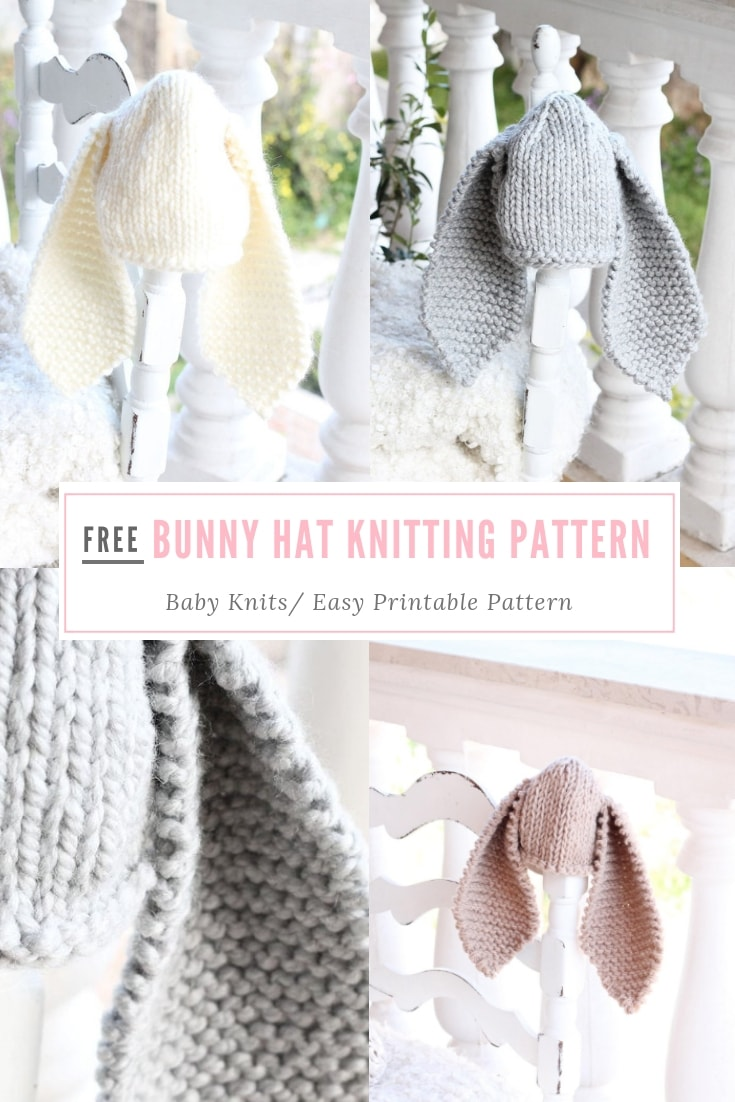 Bunny Hat | Free Knitting Patterns | Handy Little Me