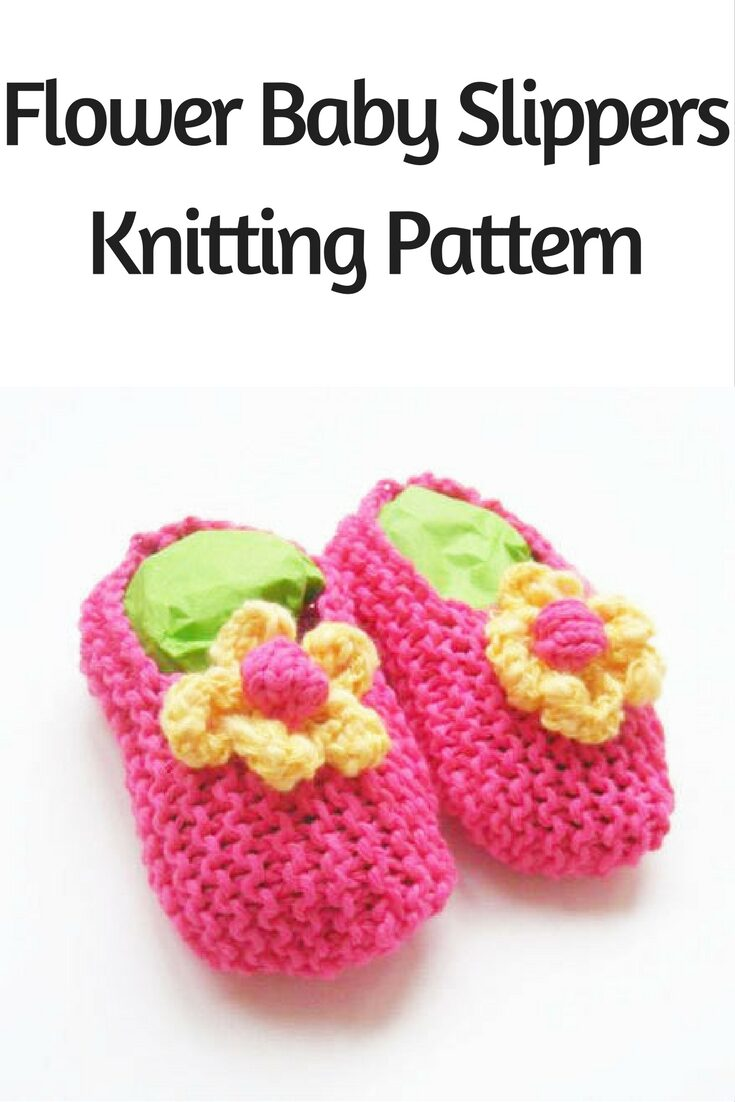 Baby Girl Shoes - Knitting Pattern
