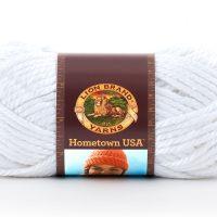 Lion Brand Hometownn USA - New York White