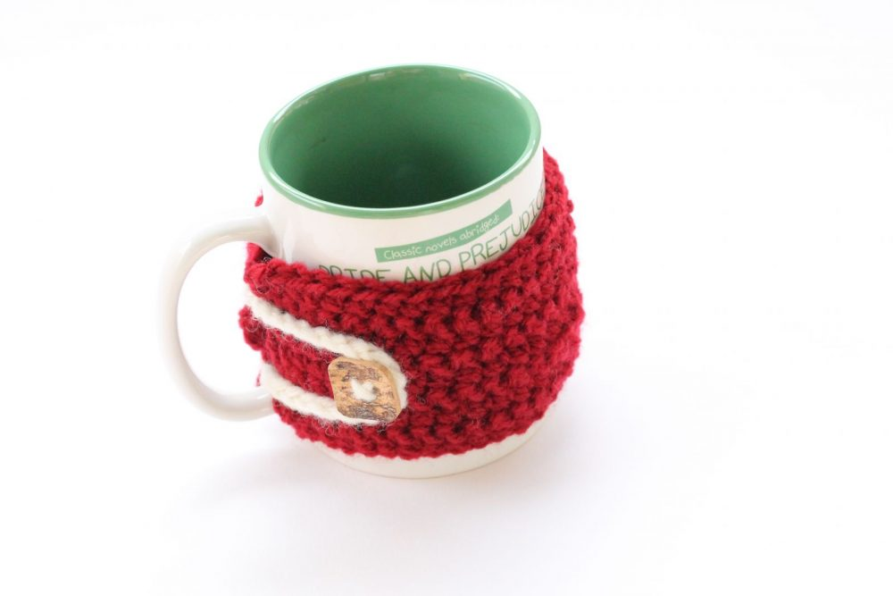 single crochet mug cosy