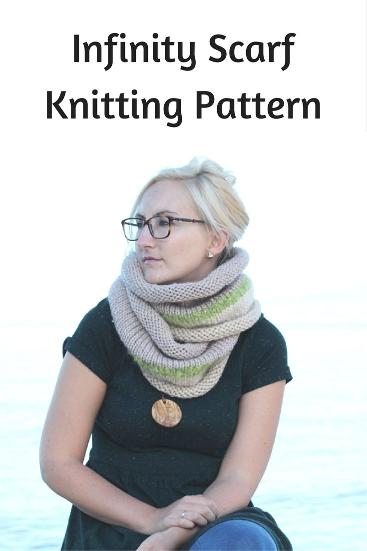 Easy Infinity Scarf The Philomena Free Knitting Patterns Handy