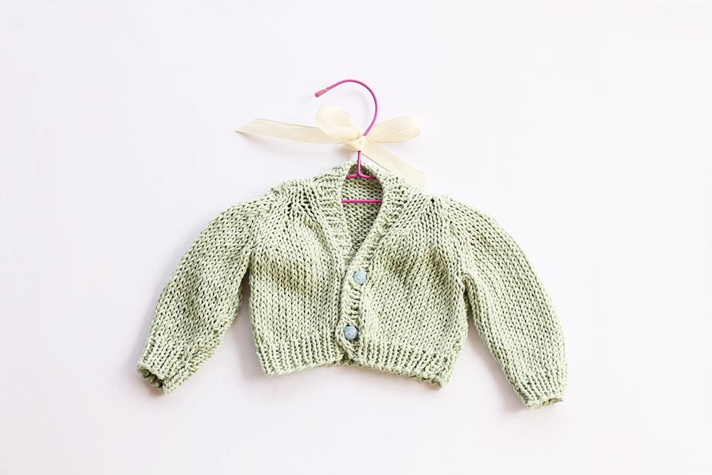 baby cardigan pattern
