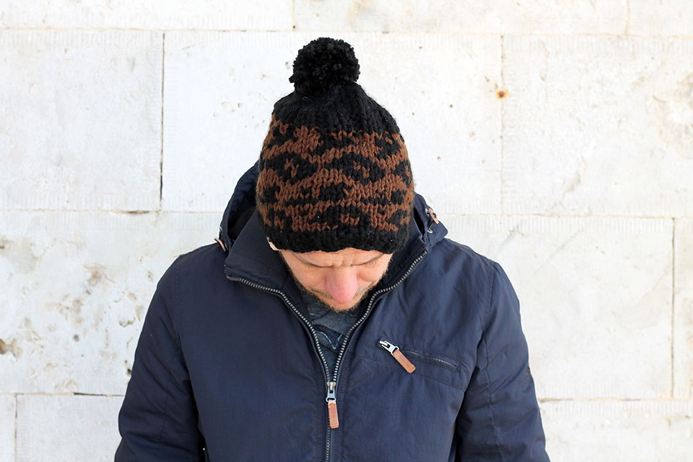 beanie hat pattern for men
