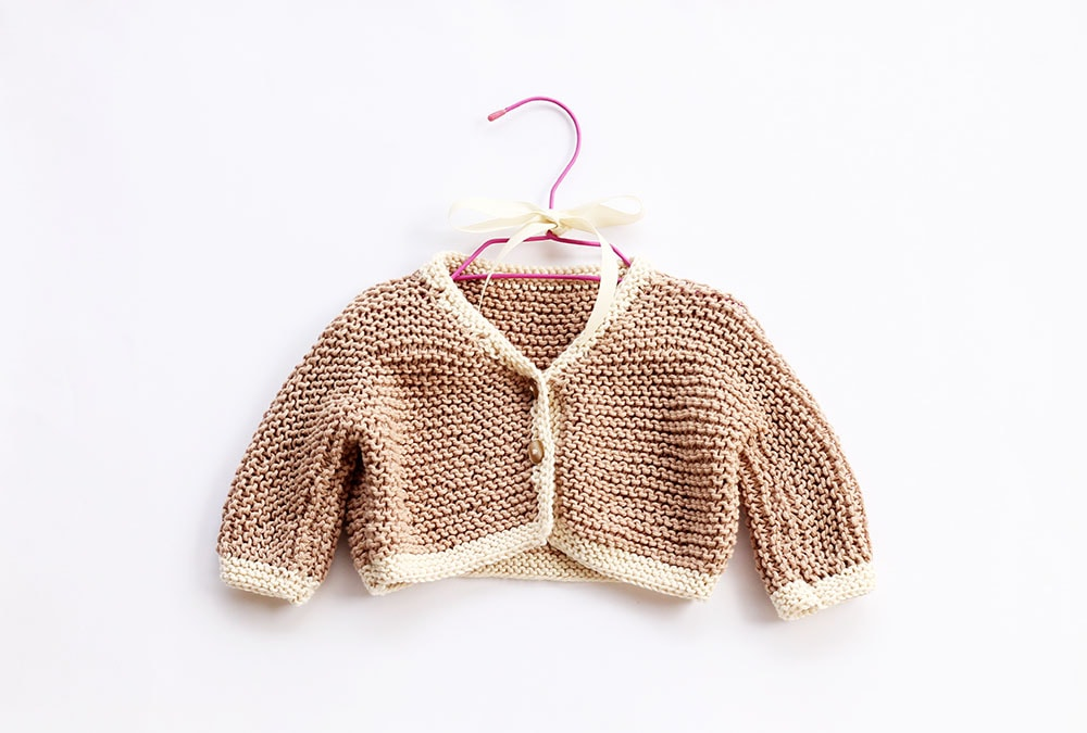 Easy Baby Cardigan Pattern Free Knitting Patterns Handy Little Me