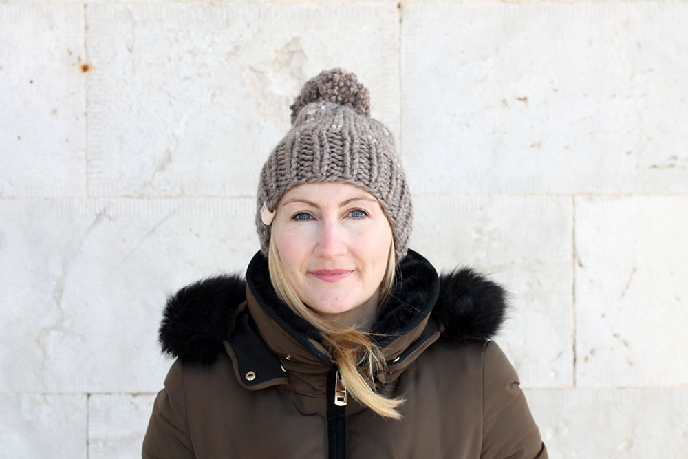 chunky winter hat pattern