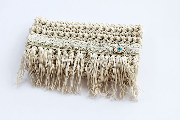 Crochet Fringe Bag - Free Patterns