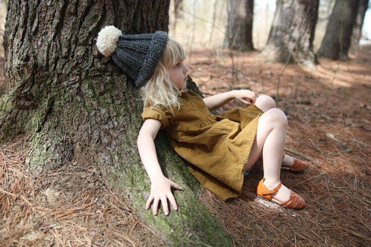 Kids Hat Pattern | The Gracie