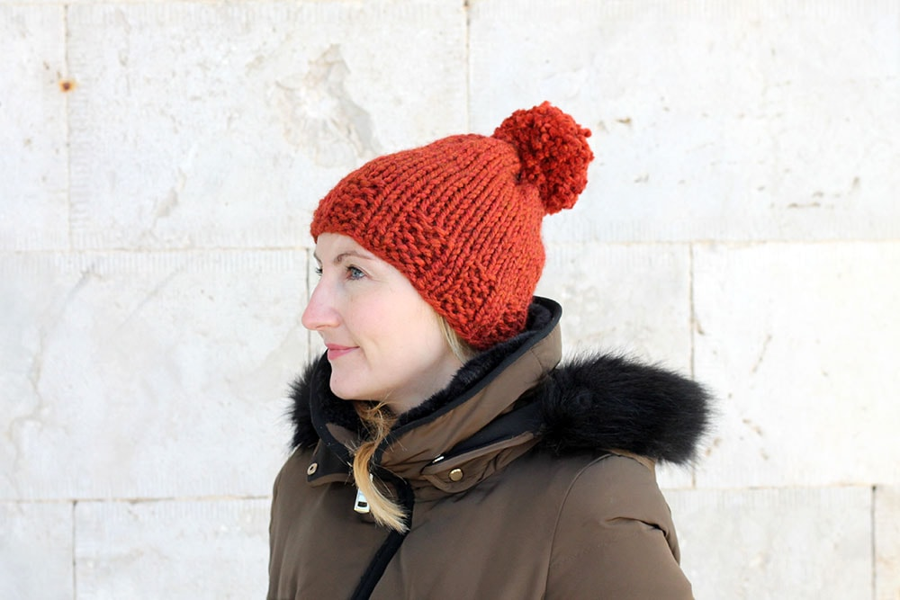 knit hat pattern for women