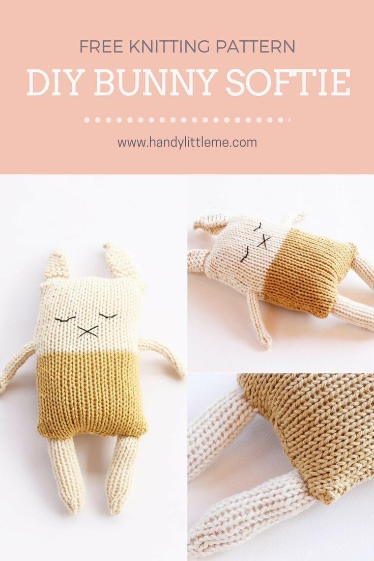 Bunny Softie Pattern
