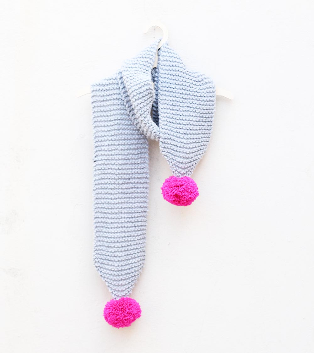 pink-and-grey-pom-pom-scarf
