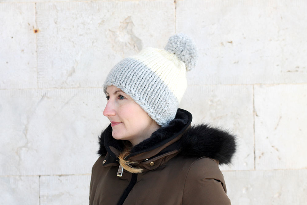 slouchy beanie hat pattern for women