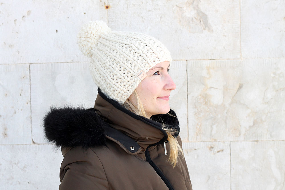 Easy beanie hat pattern