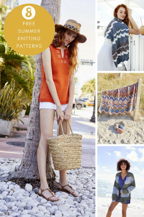 Free summer knitting patterns