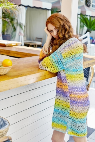 colourful beach tunic