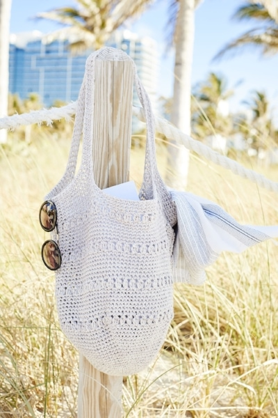 simple crochet bag
