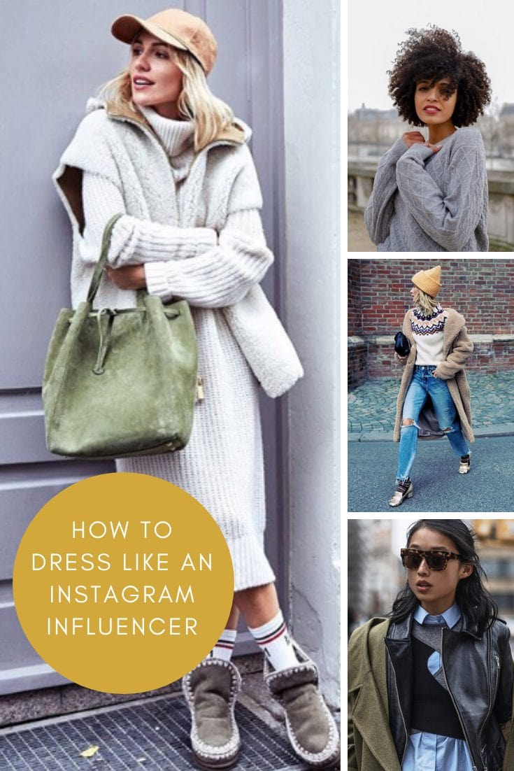 How to dress like a professional instagram influencer this fall
