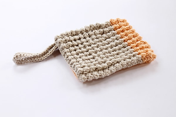 Crochet wash mitt