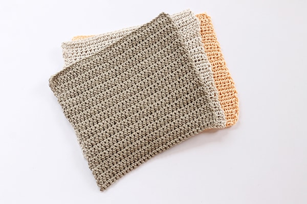 Crochet washcloths simple design