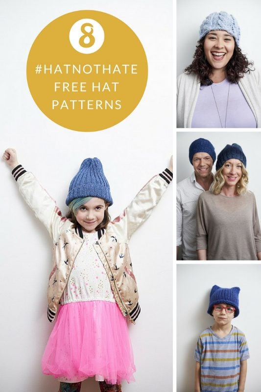 hat not hate free hat knitting patterns