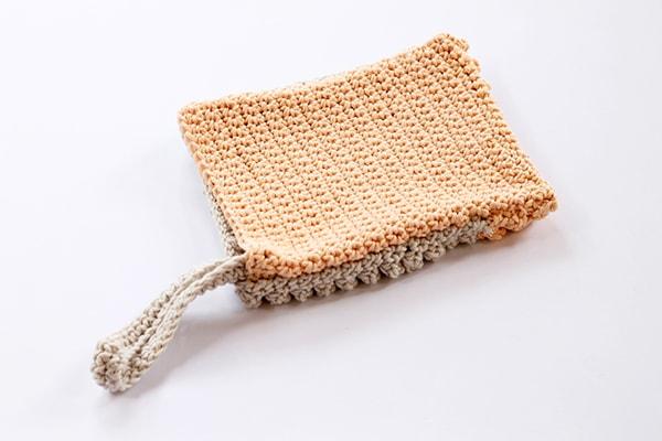 crochet wash glove