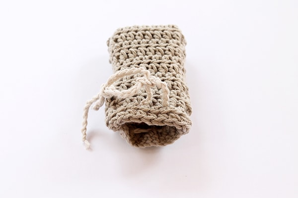 crochet soap saver bag