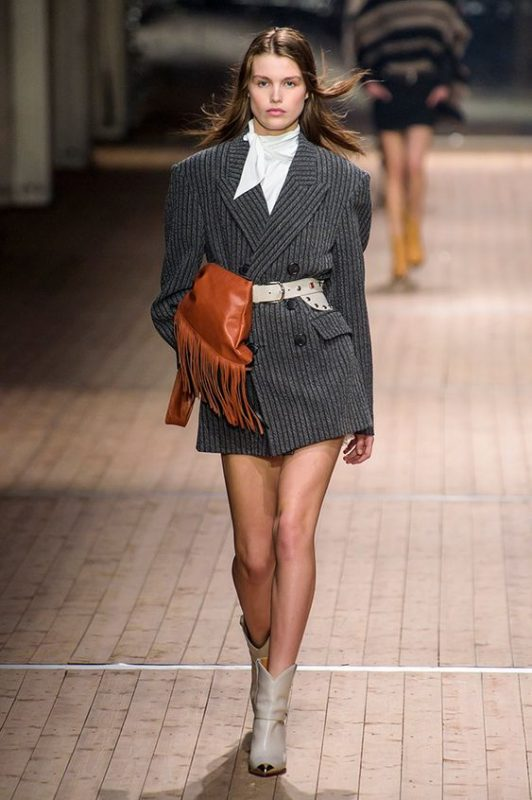 cowboy trend on the catwalk