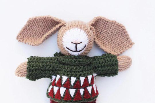 stuffed bunny rabbit