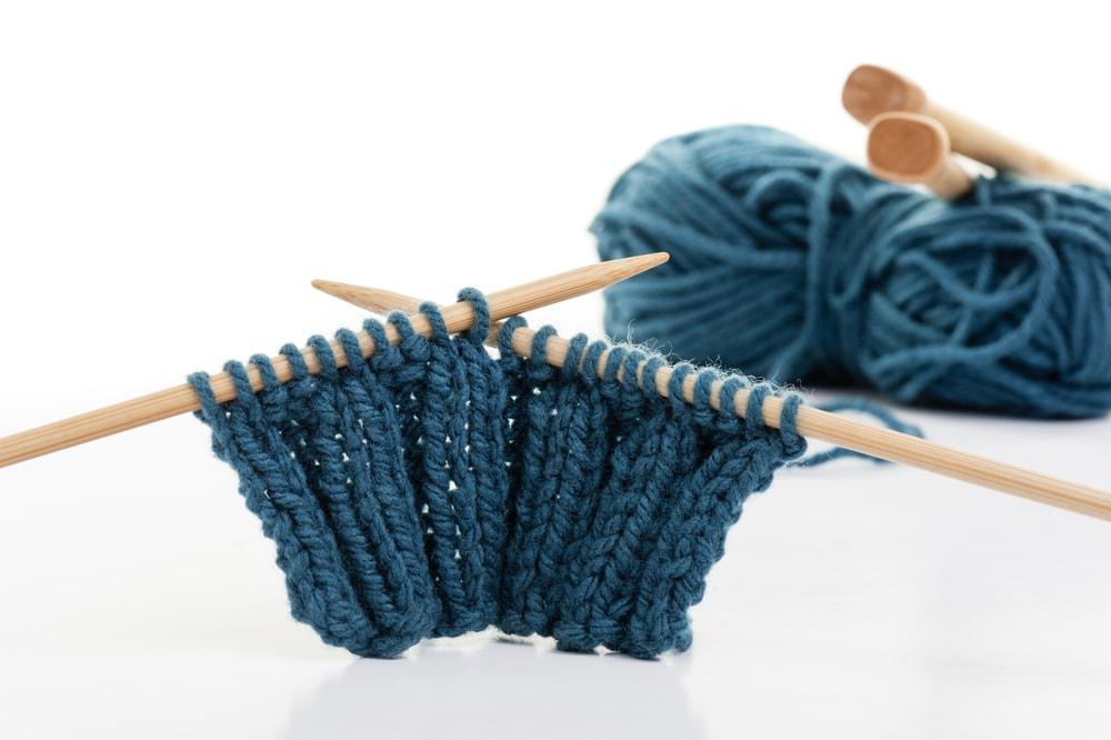 knitting the rib stitch
