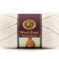 Lion  640-099 Wool-Ease Thick & Quick Yarn , 97 Meters, Fisherman