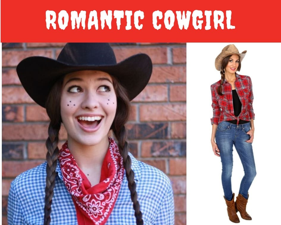romantic cowgirl halloween costume