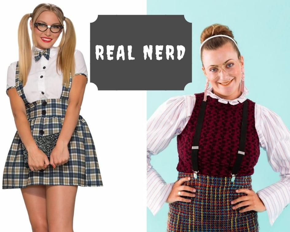 Real nerd Halloween costume