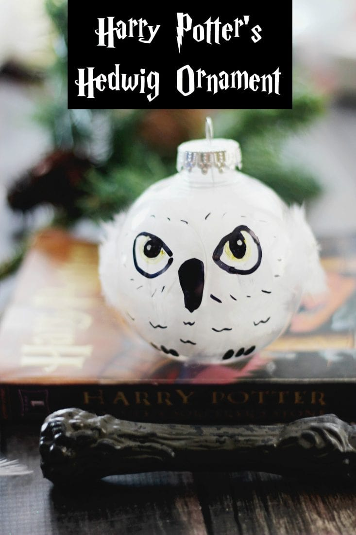 Harry Potter Hedwig ornament bauble