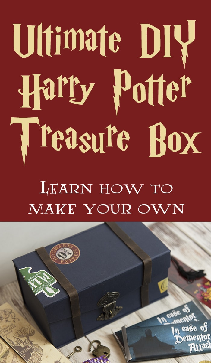 Harry Potter treasure box craft