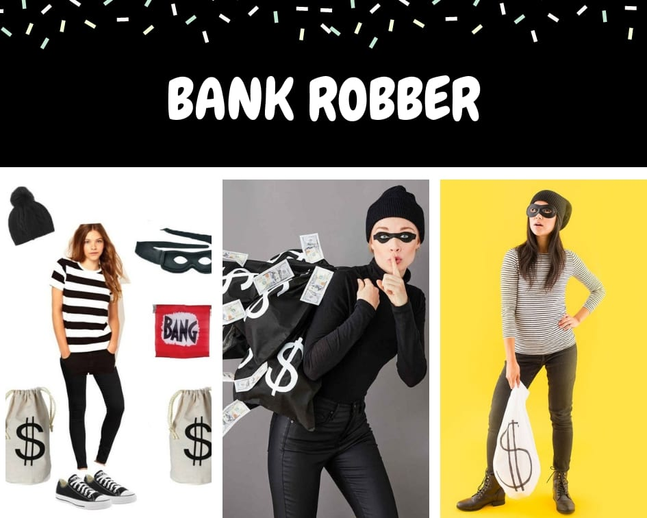 Bank robber Halloween costume