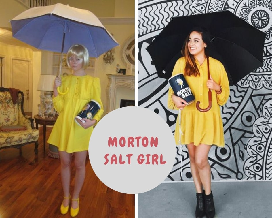 Morton Salt Girl outfit
