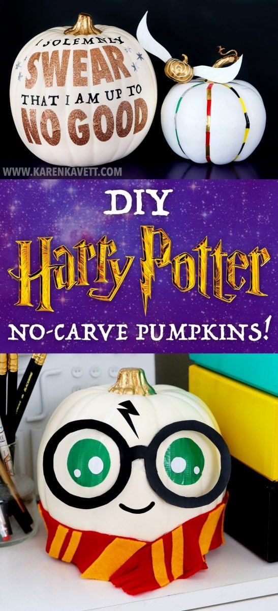 Harry Potter no carve pumpkins