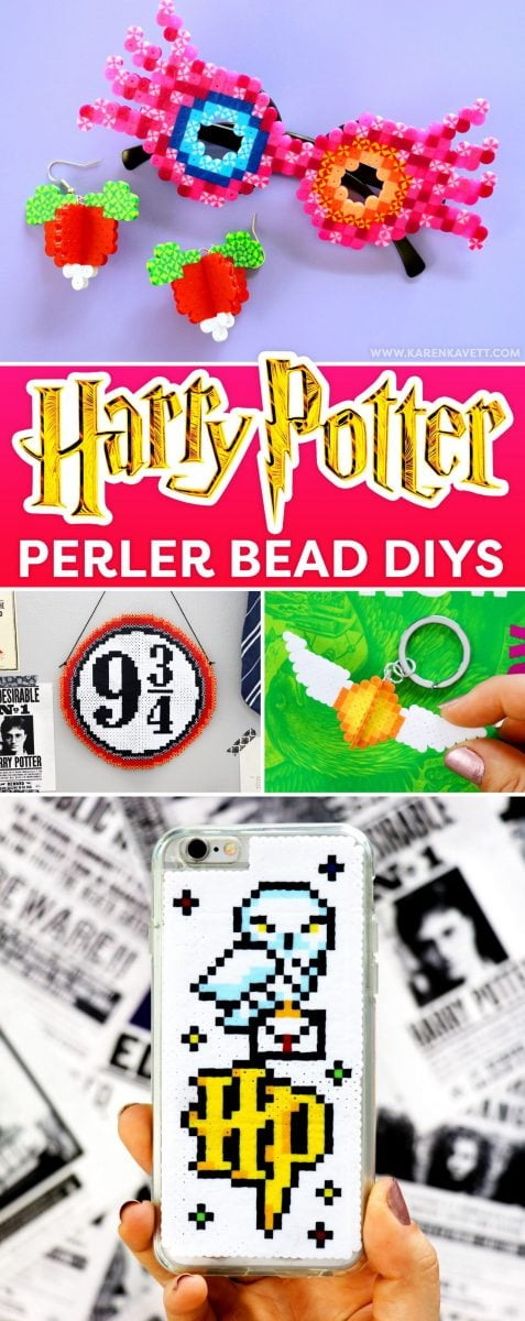 Harry Potter Perler Bead Crafts