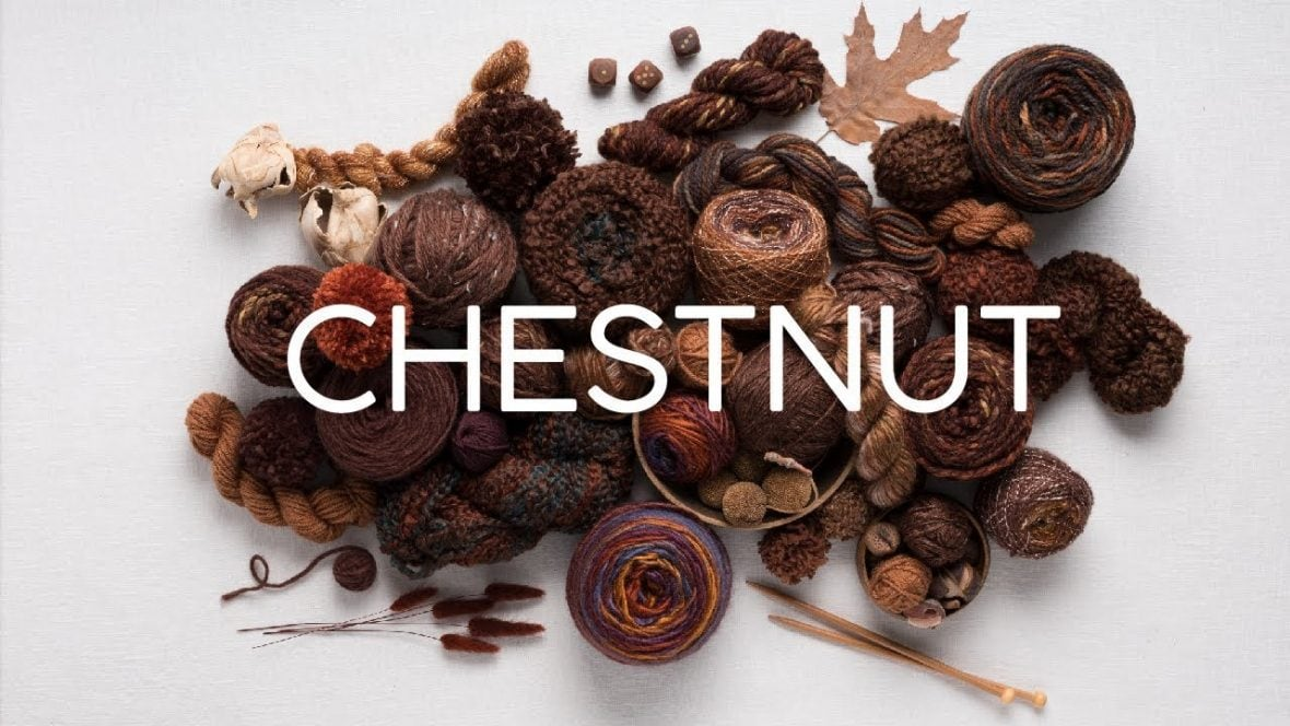 chestnut yarn colours