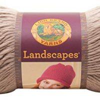Lion Brand Yarn 545-122 Landscapes Yarn, Taupe