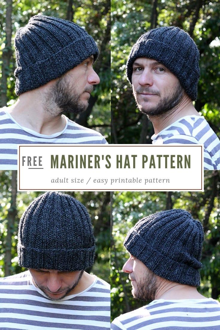 Mariners Hat Knitting Pattern free