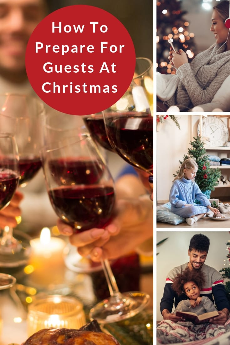 How to prepare for guests at Christmas
