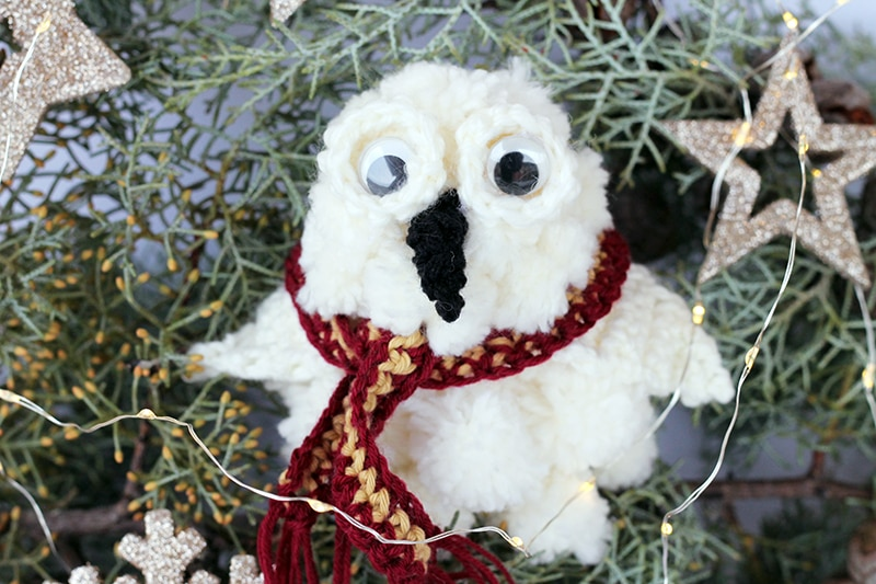 Hedwig owl Christmas ornament from Harry Potter