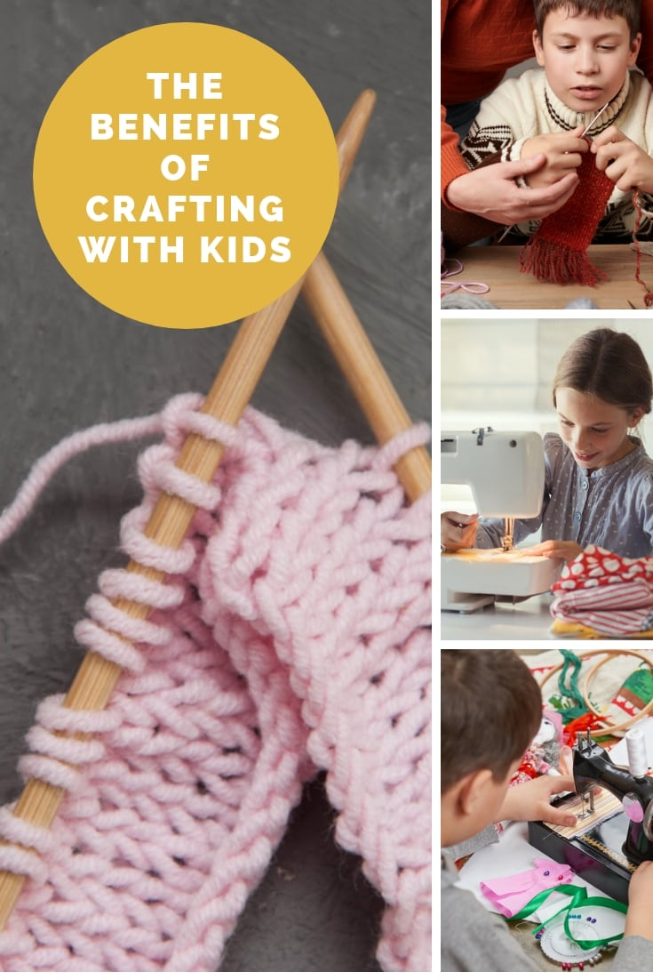 The benefits of crafting with kids