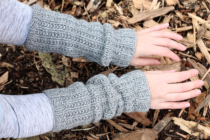 Claire from Outlander wrist warmers