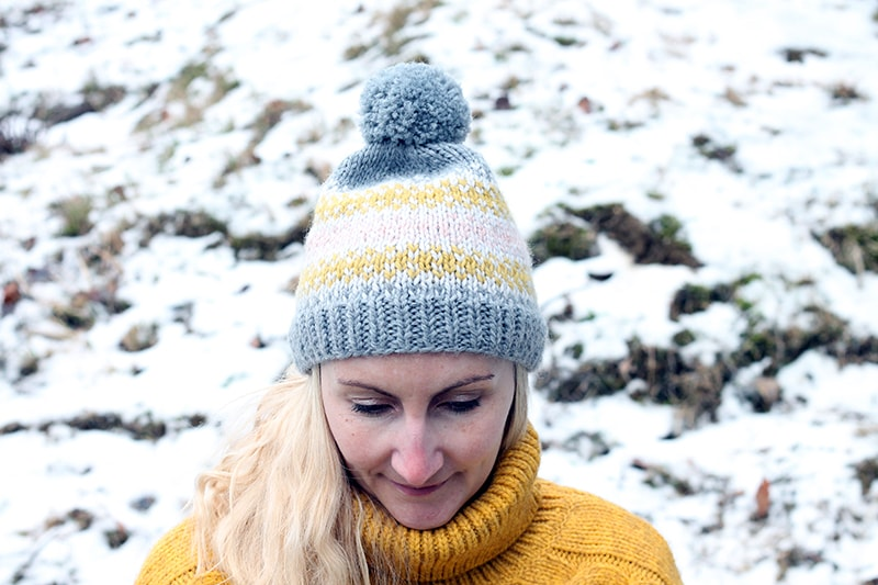 Easy fair isle hat pattern
