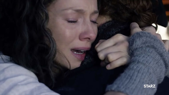 Claire and Jamie in season four of Outlander