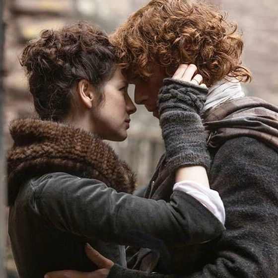 Claire and Jamie Fraser from Outlander